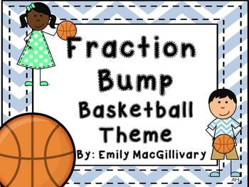 Fraction Bump: Basketball Theme