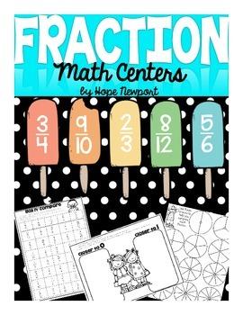 Fraction Math Centers