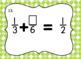 Fraction Computation Task Card Bundle- All Four Operations!