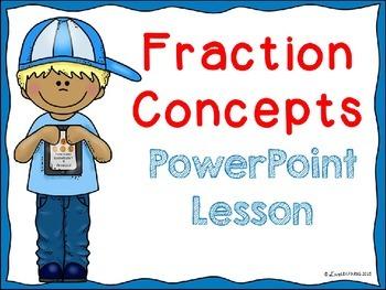 Fraction Concepts Lesson