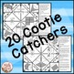 Fractions Games: Multiple Choice Cootie Catchers aka Fortu