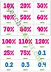 Fraction, Decimal, Percentage Match Up Game