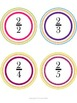 Fraction Decimal and Percent Matching Cards & Worksheets w