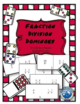 Fraction Division Domino Set