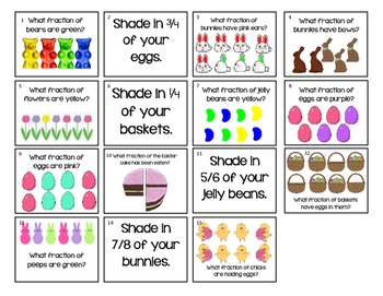 Fraction Egg Hunt