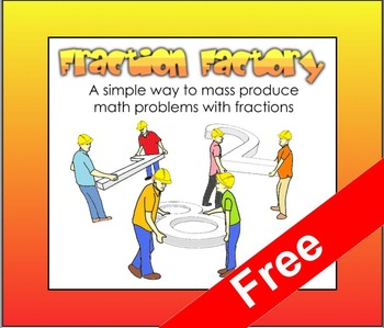 Fraction Factory (Free SMART board resource)