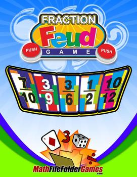 Fraction Feud: Comparing Fractions Game