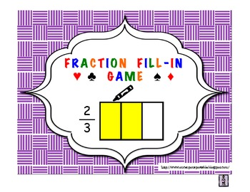 Fraction Fill-In Game