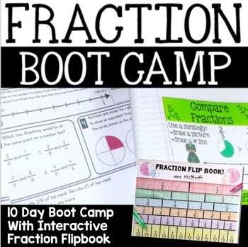 Fraction Flip Book: An Interactive Math Manipulative for G