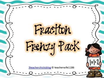 Fraction Frenzy Pack