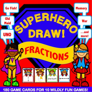 Fractions Activities: 10 Fractions Games (Models, Number L