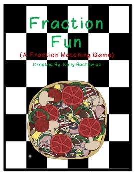 Fraction Game (Matching Fraction Fun)