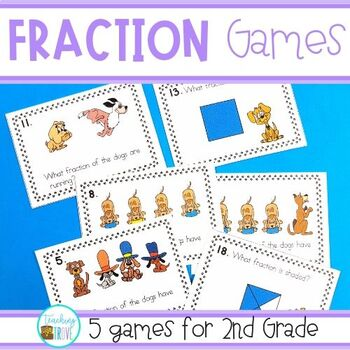 Fraction Games - Grade 2