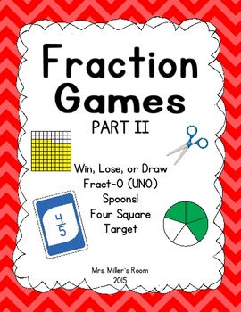Fraction Games II Bundle