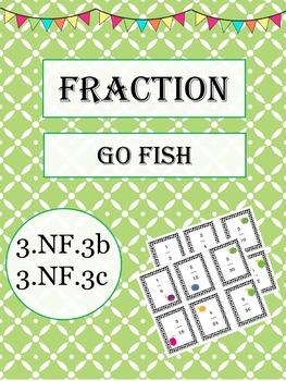 Fraction Go Fish Freebie