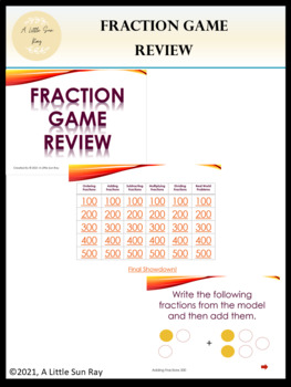 Fraction Jeopardy Review (PPT)