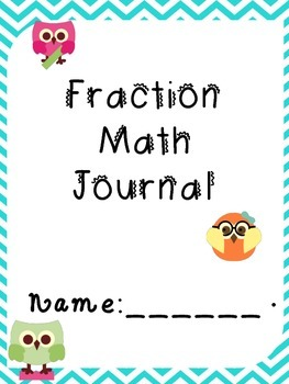 Fraction Journal Pages