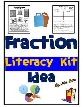 Fraction Literacy Kit Idea