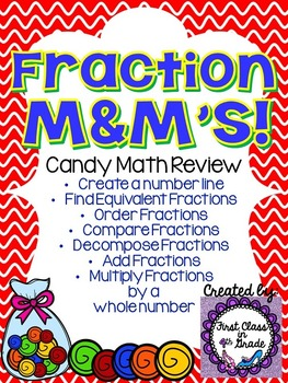 Fraction M&M's (Candy Math)