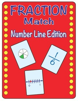 Fraction Match - Fraction Number Line Matching Game
