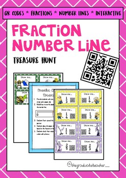Fraction Number Line Treasure Hunt ACMNA078