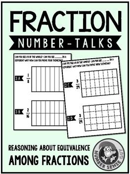 Fraction Number Talks (3-5) Equivalence