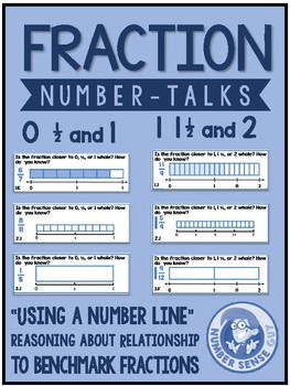 Fraction Number Talks: proximity to benchmark fraction