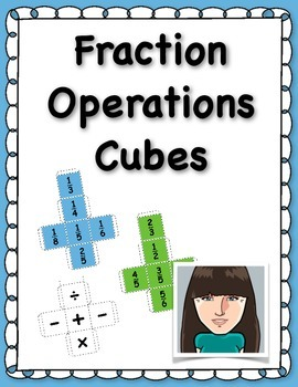 Fraction Operations Cubes