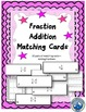 Fraction Operations Matching Card Bundle