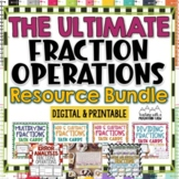 Fraction Operations Resource Bundle {Add, Subtract, Multip