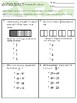 Fraction & Ordered Pair Review 5.OA.1, 5.OA.2, 5.MD.2, 5.N