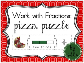 Fraction Pizza Puzzle