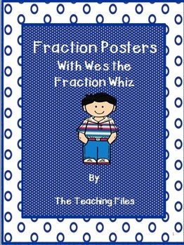 Math Posters: Equivalent Fractions to Percents with Wesley