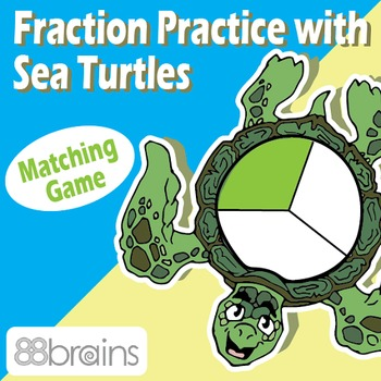 Fraction Practice with Sea Turtles: Equal Parts - File Fol