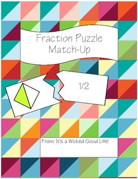 Fraction Puzzle Match-Up