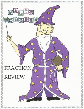 Fraction Review with Magic Squares