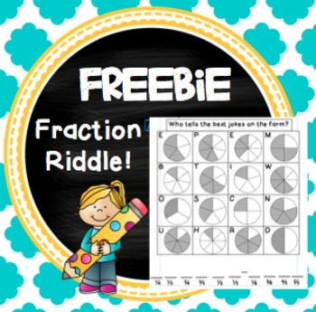 FREE Fraction Riddle!