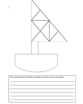 Fraction Sailboat Adding