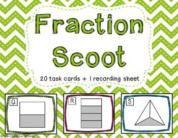 Fraction Scoot/Task Cards