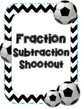 Fraction Subtraction Soccer
