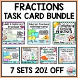 Fraction Task Cards Mega Bundle