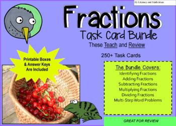 Fraction Task Cards Mega Pack