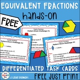 FREE Fraction Task Cards