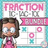 Fraction Tic Tac Toe Bundle
