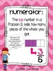 Fraction Vocabulary Posters & Practice Pages