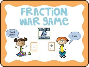 Fraction War Game