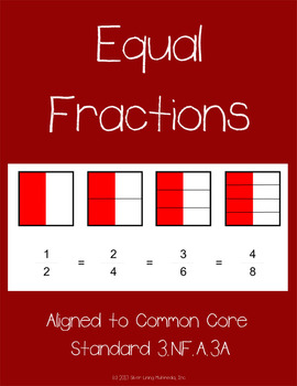 Fraction Worksheets with Visuals - Aligned to Common Core