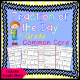 Fraction of the Day for 4th Grade