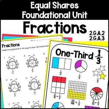 Fractions & Equal Shares Foundational Skills