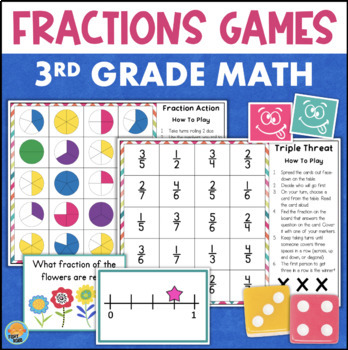Fractions Games for 2 Players